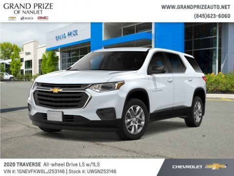 Summit White 2020 Chevrolet Traverse LS AWD