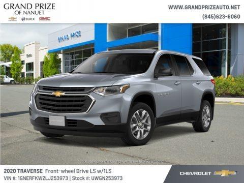 Satin Steel Metallic 2020 Chevrolet Traverse LS