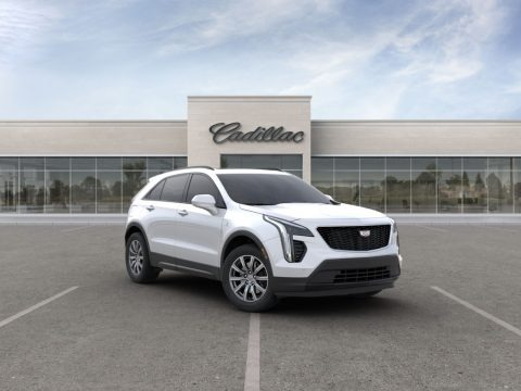 Crystal White Tricoat 2020 Cadillac XT4 Sport AWD