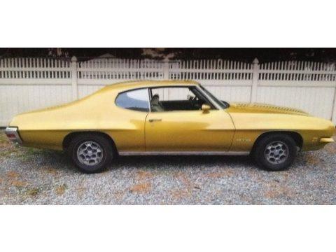 Aztec Gold 1971 Pontiac GTO Hardtop Coupe