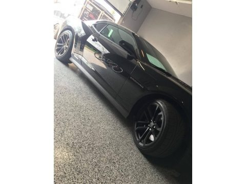 Black 2015 Chevrolet Camaro ZL1 Coupe