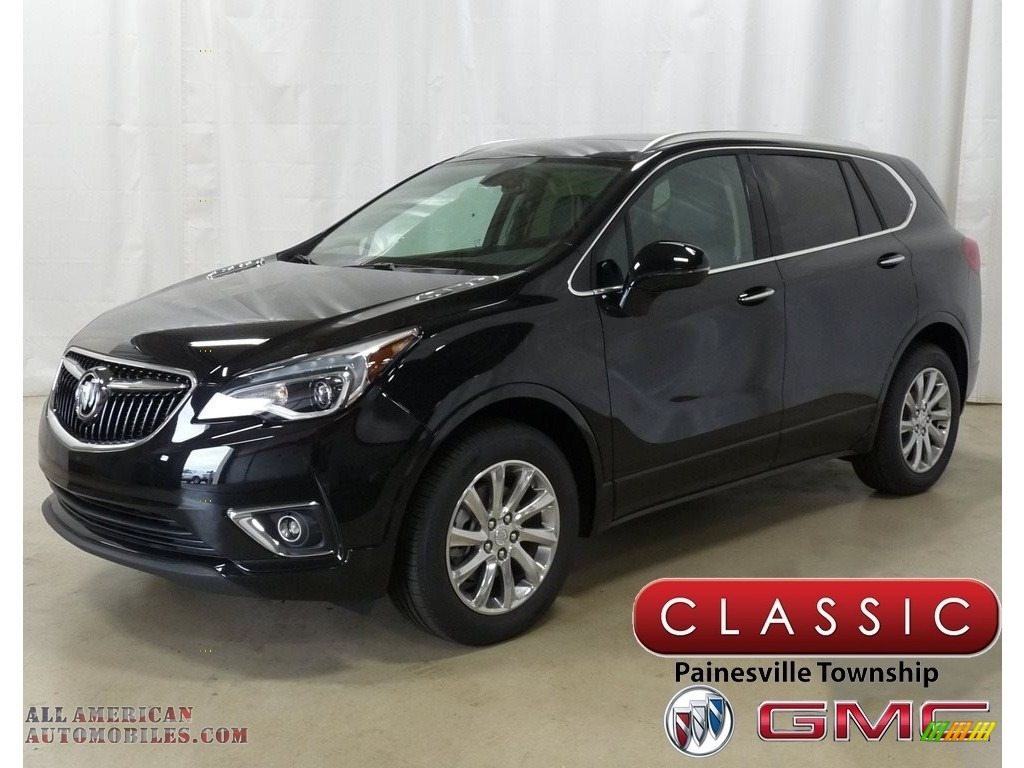 2020 Envision Essence AWD - Ebony Twilight Metallic / Ebony photo #1