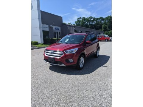 Ruby Red 2018 Ford Escape SEL 4WD