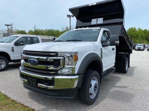 Oxford White 2020 Ford F550 Super Duty XL Crew Cab 4x4 Dump Truck