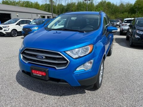 Blue Candy Metallic 2020 Ford EcoSport SE