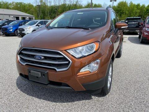 Canyon Ridge Metallic 2020 Ford EcoSport SE 4WD