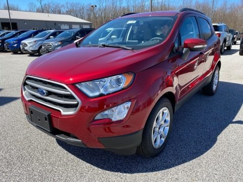 Ruby Red Metallic 2020 Ford EcoSport SE