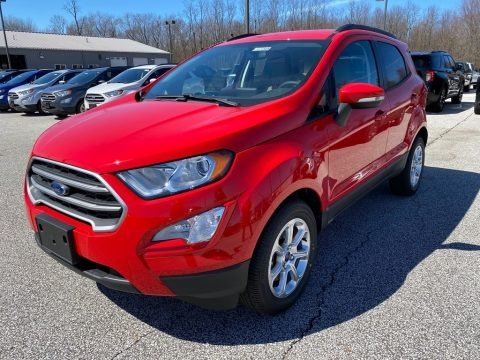 Race Red 2020 Ford EcoSport SE