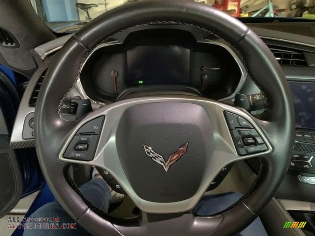 2016 Corvette Stingray Coupe - Laguna Blue Metallic / Gray photo #1