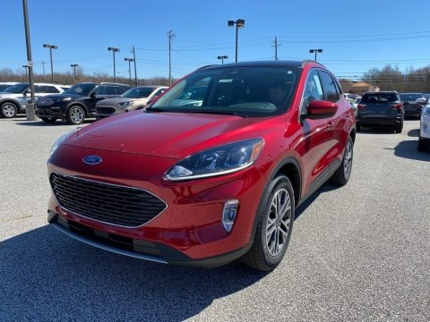 Rapid Red Metallic 2020 Ford Escape SEL 4WD