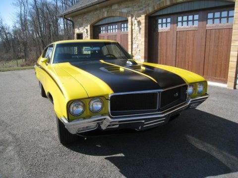 Saturn Yellow 1970 Buick GSX Coupe