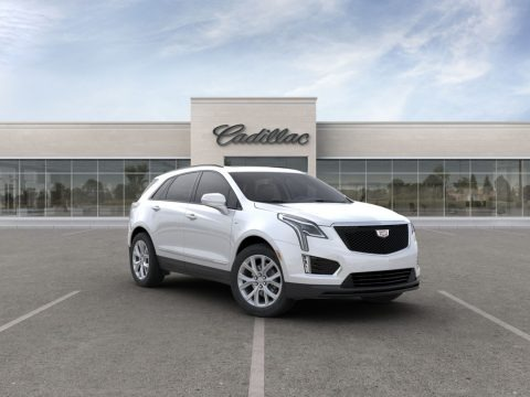 Crystal White Tricoat 2020 Cadillac XT5 Sport AWD