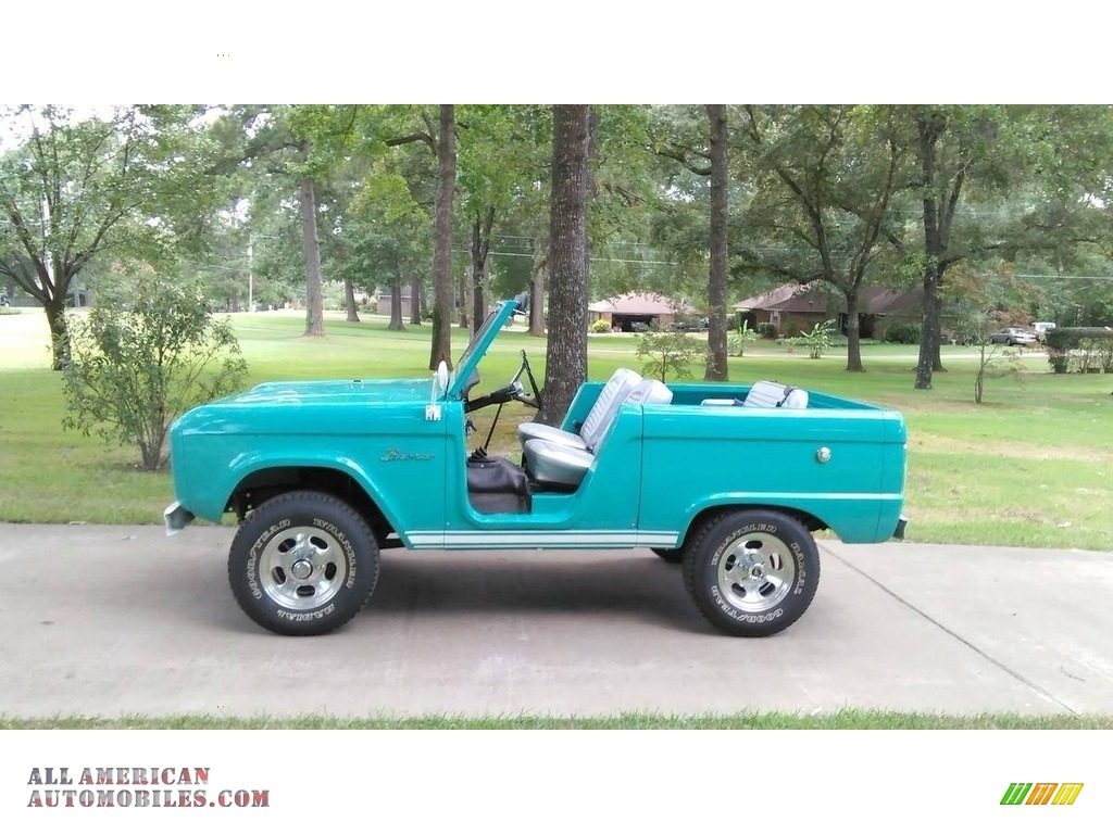 1966 Bronco Roadster - Caribbean Turquoise / Grey photo #1