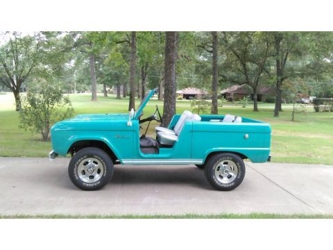 Caribbean Turquoise 1966 Ford Bronco Roadster