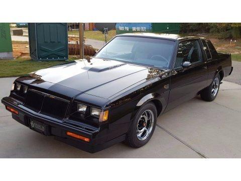 Black 1986 Buick Regal Grand National