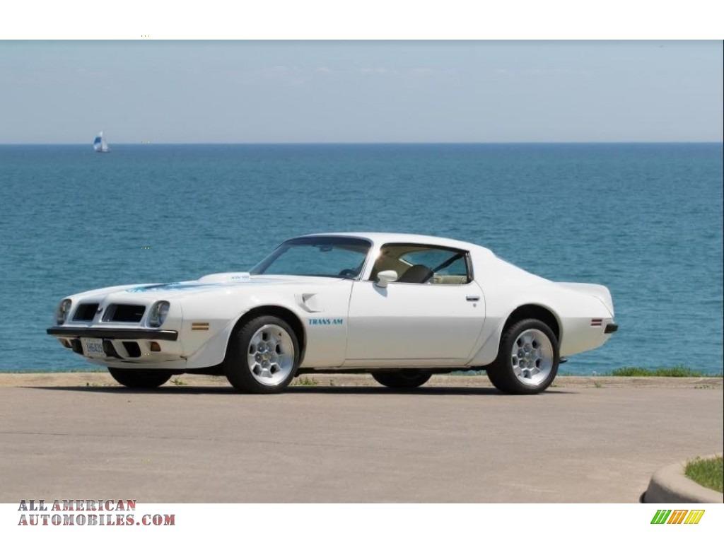 Cameo White / White Pontiac Firebird Trans Am