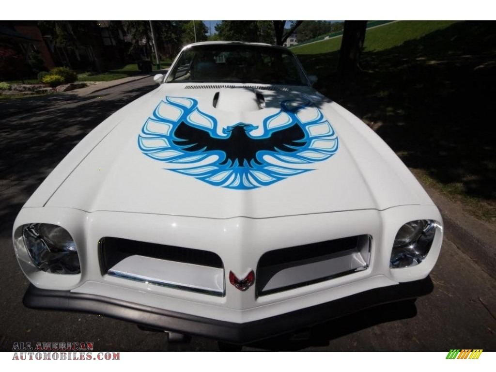 1974 Firebird Trans Am - Cameo White / White photo #4