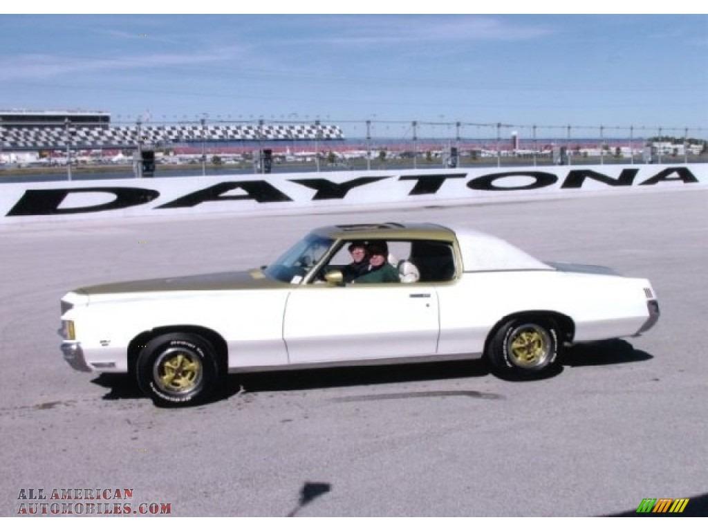 1971 Grand Prix SSJ Hurst - Cameo White/Fire Frost Gold / Ivory photo #1