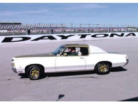 Cameo White/Fire Frost Gold 1971 Pontiac Grand Prix SSJ Hurst