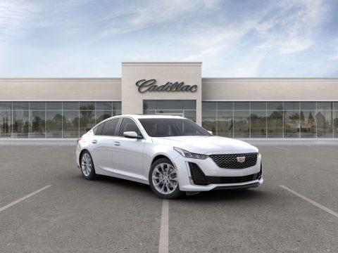 Crystal White Tricoat 2020 Cadillac CT5 Premium Luxury AWD