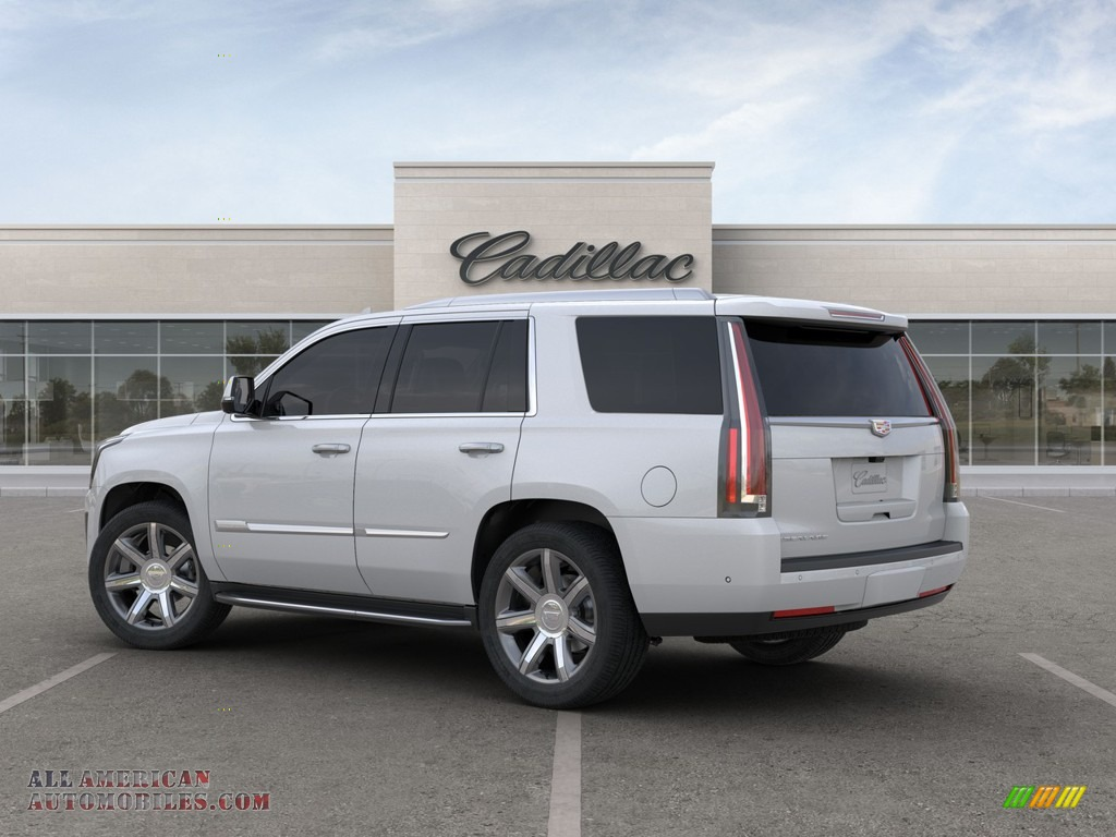 2020 Escalade Luxury 4WD - Crystal White Tricoat / Shale photo #3
