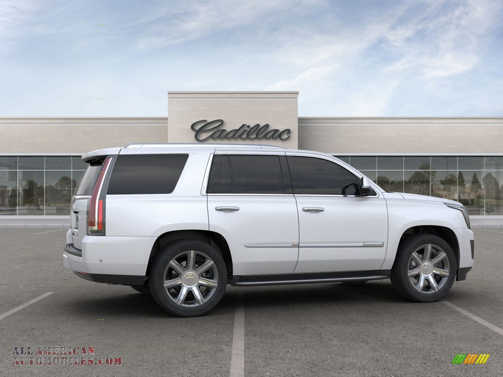 2020 Escalade Luxury 4WD - Crystal White Tricoat / Shale photo #5