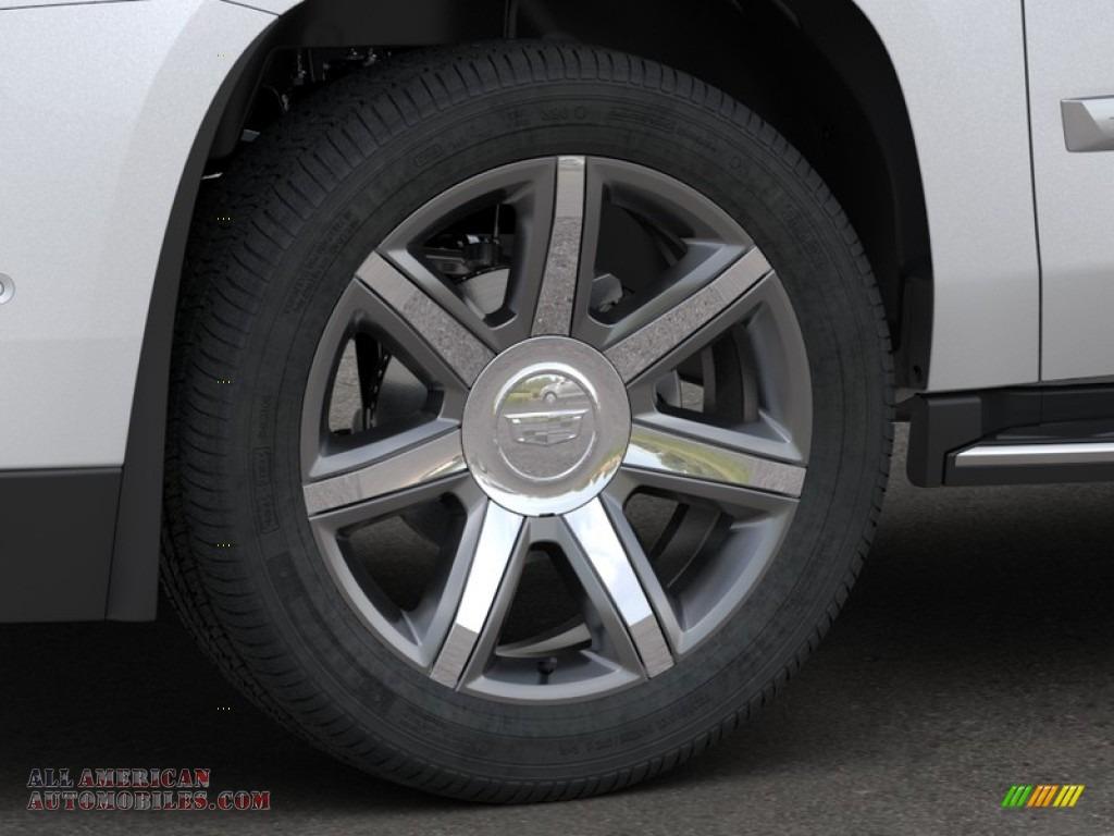 2020 Escalade Luxury 4WD - Crystal White Tricoat / Shale photo #7