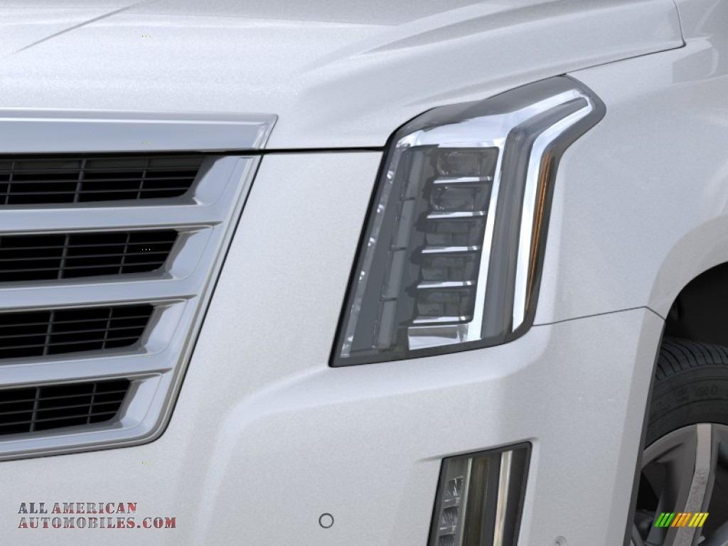 2020 Escalade Luxury 4WD - Crystal White Tricoat / Shale photo #8
