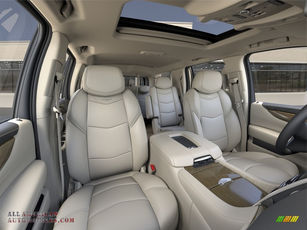 2020 Escalade Luxury 4WD - Crystal White Tricoat / Shale photo #11