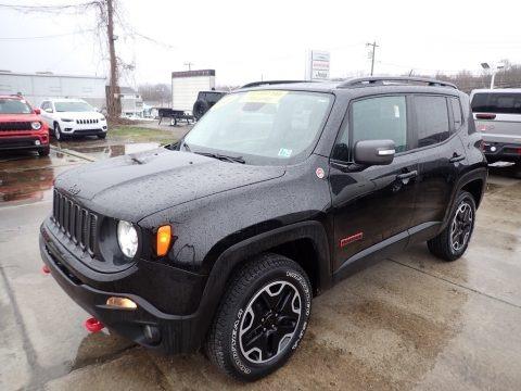 Black 2017 Jeep Renegade Trailhawk 4x4