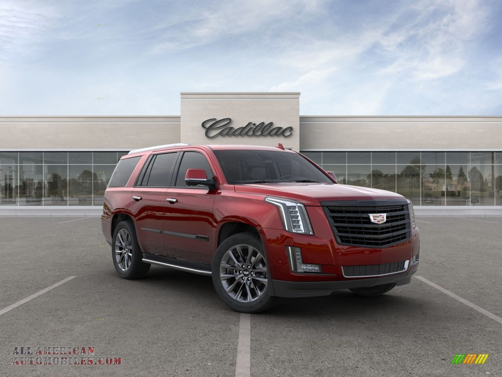 2020 Escalade Luxury 4WD - Red Passion Tintcoat / Jet Black photo #1