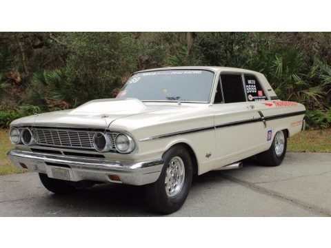 White 1964 Ford Fairlane 500 Thunderbolt Coupe