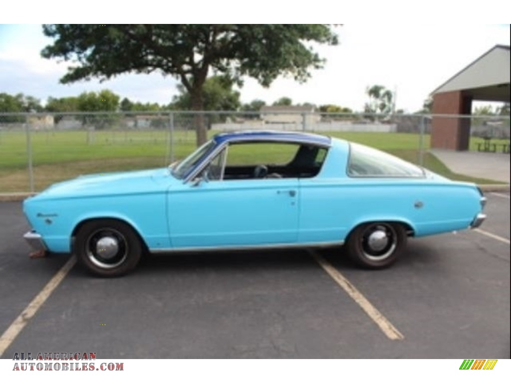 1966 Barracuda Formula S - Light Blue / Blue photo #1