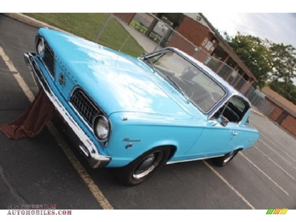 1966 Barracuda Formula S - Light Blue / Blue photo #2