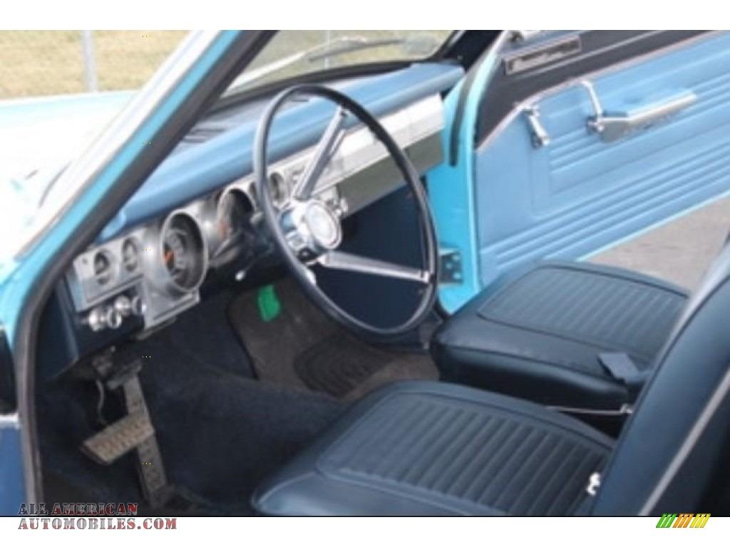1966 Barracuda Formula S - Light Blue / Blue photo #5