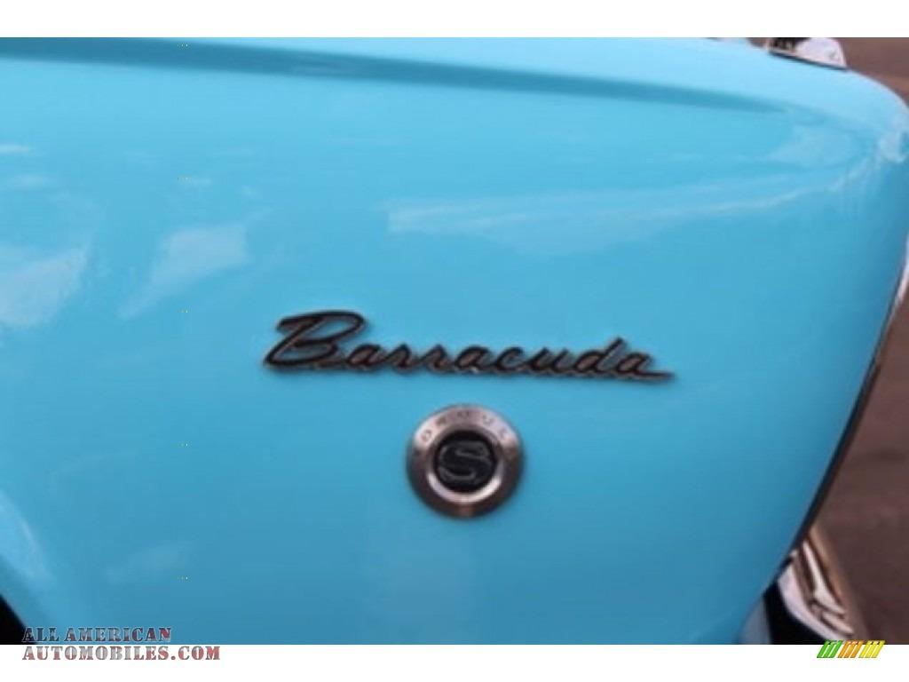 1966 Barracuda Formula S - Light Blue / Blue photo #9