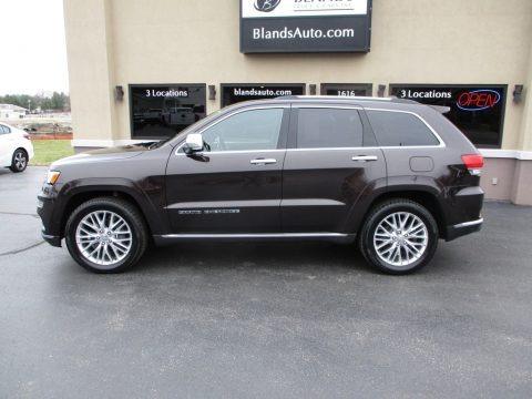 Luxury Brown Pearl 2017 Jeep Grand Cherokee Summit 4x4