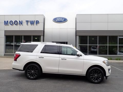 Oxford White 2019 Ford Expedition Limited 4x4