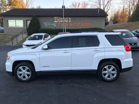 Summit White 2017 GMC Terrain SLE