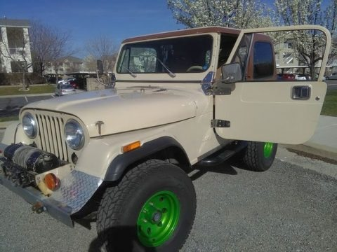 Almond Beige 1984 Jeep CJ7