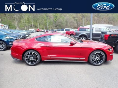 Rapid Red 2020 Ford Mustang EcoBoost Fastback
