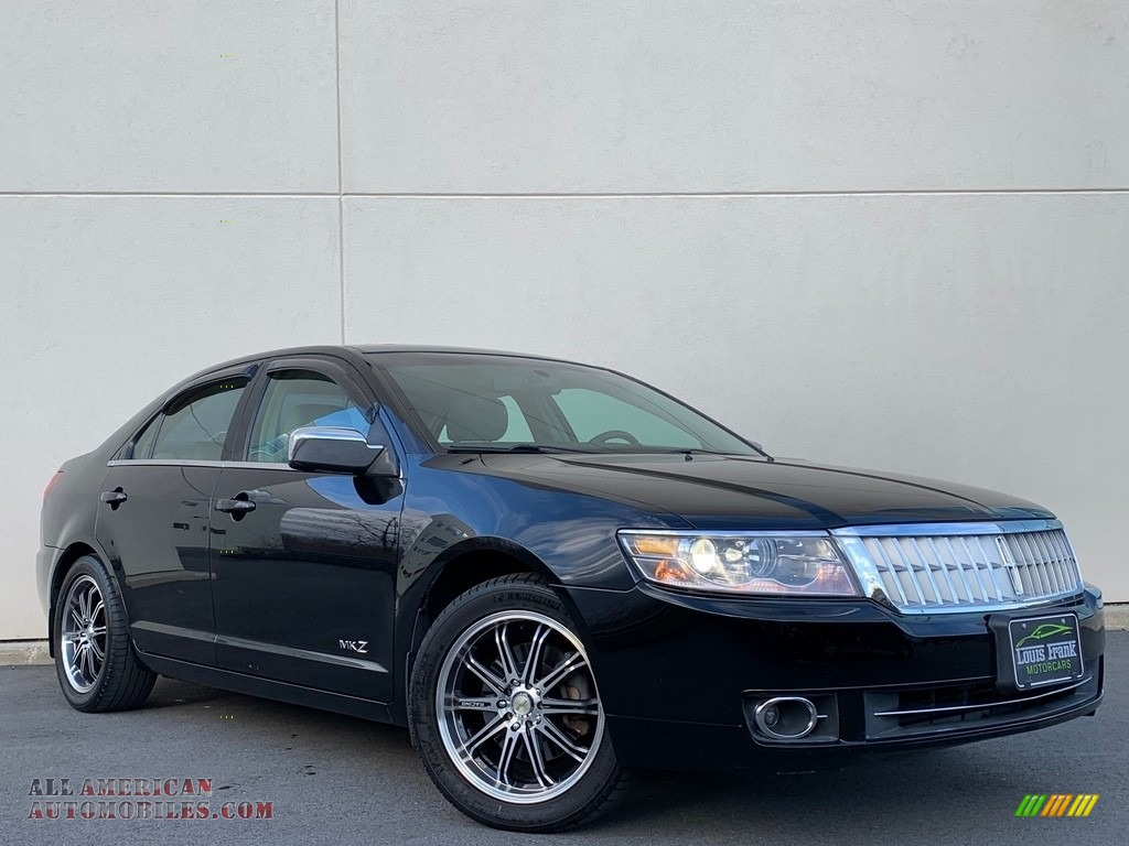 Black / Light Stone Lincoln MKZ Sedan
