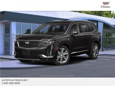 Manhattan Noir Metallic 2020 Cadillac XT6 Premium Luxury AWD