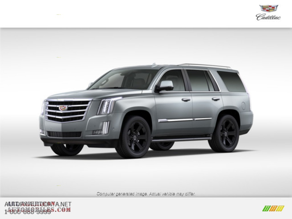 2020 Escalade Luxury 4WD - Satin Steel Metallic / Jet Black photo #1