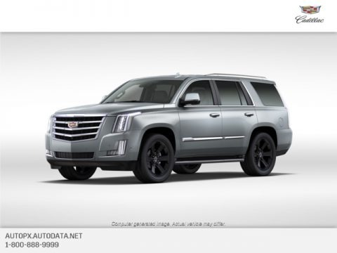 Satin Steel Metallic 2020 Cadillac Escalade Luxury 4WD