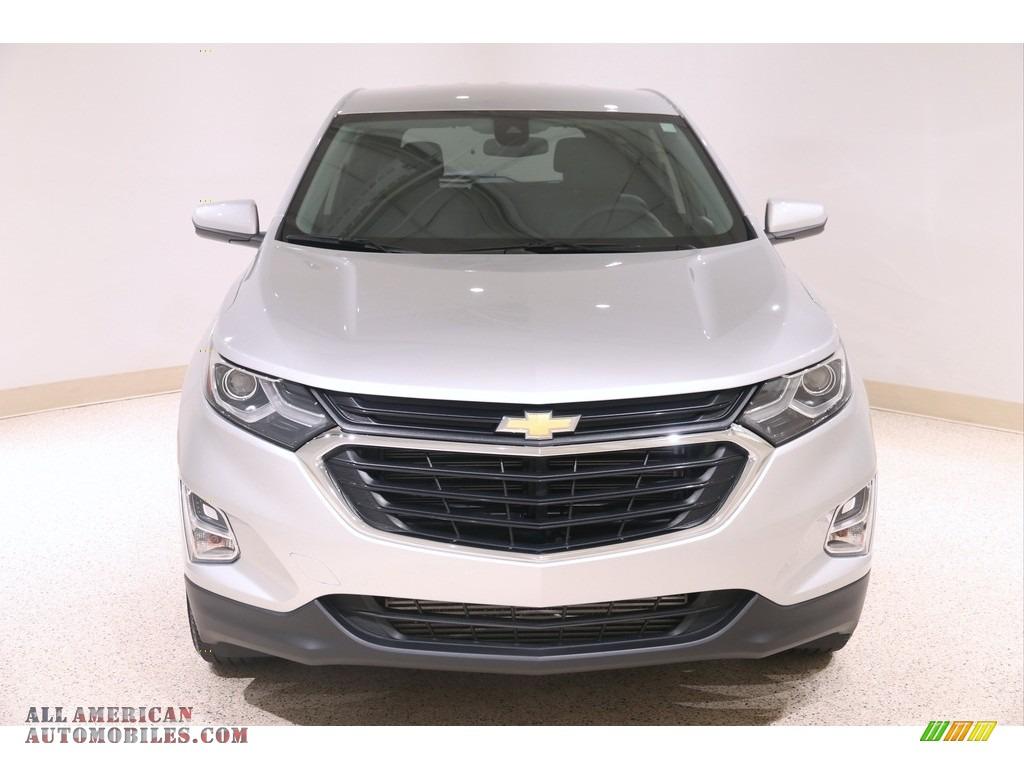 2020 Equinox LT AWD - Silver Ice Metallic / Jet Black photo #2