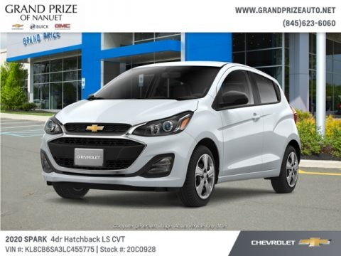 Summit White 2020 Chevrolet Spark LS
