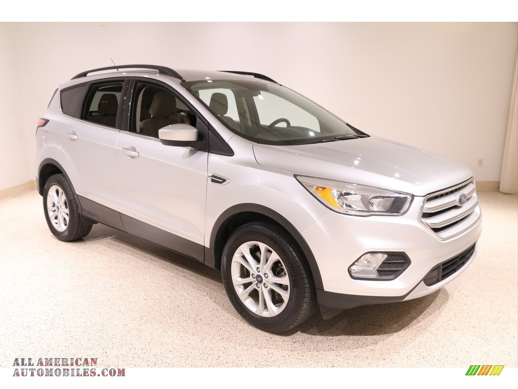 2018 Escape SE 4WD - Ingot Silver / Medium Light Stone photo #1