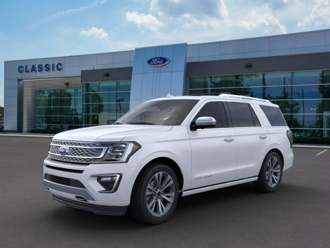 Star White 2020 Ford Expedition Platinum 4x4