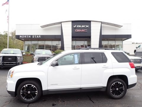 Summit White 2017 GMC Terrain SLE AWD